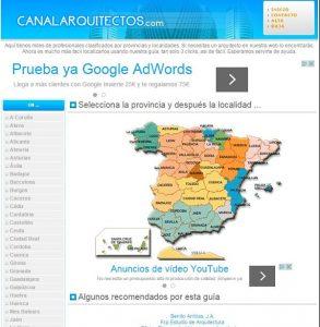 Canalarquitectos.com